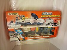 1999 MATCHBOX MEGA RIG ARCTIC SUBMARINE NEW/OLD STOCK SEALED VTG. SUPER RARE