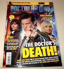 DOCTOR WHO MAGAZINE # 427 Nov 2010 VFN/NM   11th Doctor / Sarah Jane / Jo  Cover