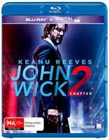 John Wick Chapter 2 Blu-ray Region B New!