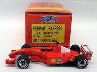 BBR 1/43 Scale built kit  MET101 Ferrari F1 2001 GP Ungheria 2001 Win Schumacher