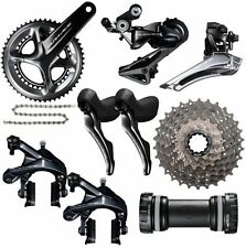 SALE 2018 Shimano Dura Ace Group R9100 11s Groupset Kit Group 172.5 36/52, 11x28