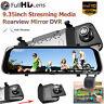 "10"" HD 1080P Car Rear View Mirror DVR Camera Dash Cam Streaming Media Parking"