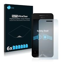 6x Savvies Screen Protector for Asus ZenFone 4 A450CG Ultra Clear