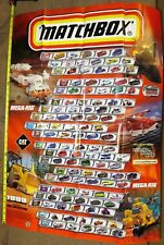 1999  Matchbox  Promotional  Poster Contains All 100 Cars     HWM2-083119