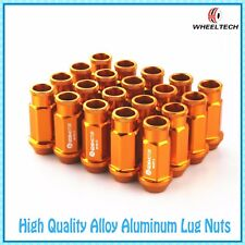 20 X Gold Color Alu tuner M12x1.5 50mm for Ford FIESTA FOCUS more Wheel Lug Nuts