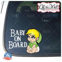 "Baby Link ""BABY ON BOARD"" Vinyl Car Decal Sticker"
