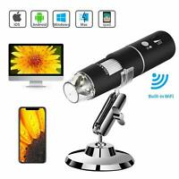1000X Magnifier WIFI USB Digital Microscope Camera for iPhone Android Mac Widows