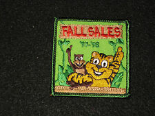 """Girls Scouts Fall Sales1997-1998 Cookies NEW About 2.5"""" x 2.5"""" Animal Jungle"""