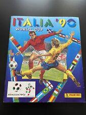 PANINI COMPLETE ALBUM WORLDCUP ITALIA90 1990 GREAT FANTASTIC CONDITION!