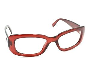 Ray-Ban RB 4122 735/8G Clear Red Acetate Sunglasses Oval Frame Women's Italy
