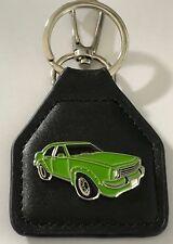 Torana SL/R 5000  -- green sedan --  Genuine leather Key Fob.