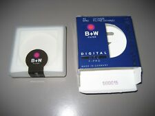 B+W 43mm MRC UV-HAZE FILTER ~ Empty Plastic Case/Holder & Box,  ~NO FILTER~