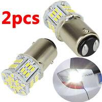 Safego 2x LED 1157 BAY15D 3014 54SMD Bombillas para luces de marcha atrás AUTO