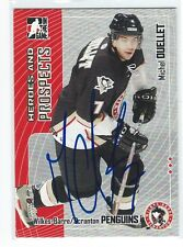 Michel Ouellet Signed 2005/06 Heroes and Prospects Card #67