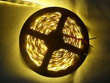5 Meter 24V DC Warmweiß LED Strip Streifen SMD 5050 Nicht Wasserdicht 300 LEDs