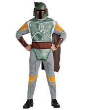 "Star Wars Mens Boba Fett Costume Style 1, Std,CHEST 44"",WAIST 30-34"",LEG 33"""