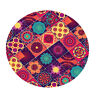 """Round Tablecloth Table Cover Dining Party Supplies 59"""" Dia. Flower"""