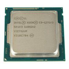 Intel CPU Xeon  E3-1271v3 QuadCore 3,60GHz 8MB 5GTs SR1R3 Socket LGA1150