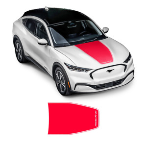 MACH - E Graphic Hood Decal, for Ford Mustang 2021