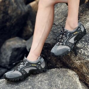 Men's Shoes Quick Dry Water Sneaker Hiking Climbing Wading Comfortable Casual