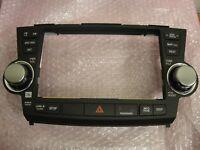 2008-2012 Toyota Highlander OEM GPS Navigation FACE PLATE PANEL 86121-48420