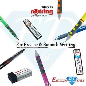 Rotring Tikky Ballpoint / Rollerpoint Pens & Mechanical Pencils / Lead / Erasers