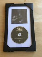 SIGNED Ozzy Osbourne Ordinary Man CD (2020) AUTOGRAPHED FRAMED - LAST ONE!