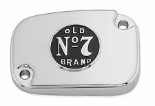 Jack Daniels Chrome/Black Old No.7 Master Cylinder Cover - 106-262