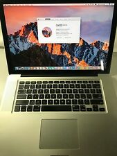 """PERFECT MacBook Pro 15"""", i7, 8 GB RAM, 500 GB , Early  2011, A1286 with thunder"""