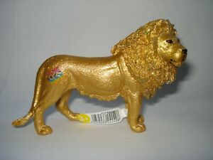 Schleich 72156 Exclusive Goldener Löwe limitiert 85Jahre Sonderedition Gold Lion