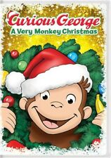 Curious George: A Very Monkey Christmas [New DVD] Snap Case