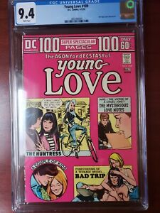YOUNG LOVE #109 * CGC 9.4 * (DC, 1974)  100 PAGE GIANT!!  MUST-SEE!! White Pages