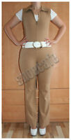 Overall Gr. 38/40 (176) Catsuit Jumpsuit beige stretch (#1230)