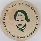 alter Bierdeckel FALKENBIER, Schaffhausen/Schweiz 🍺 INT-SCHW-5