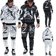 Herren Jogginganzug Trainingsanzug Sportanzug Fitness Streetwear JG-636