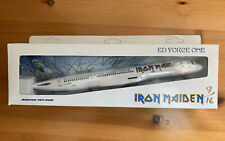 Iron Maiden SIGNED - Ed Force One Model - Somewhere Back In Time Tour 2008