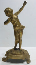 FARBEL - Belle STATUETTE en Bronze Angelot #2