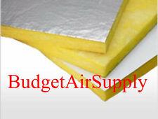 "3 SHEETS Fiberglass Ductboard 2"" x 48"" x 120"" Duct board R8 (2""x 4ft x10ft)"