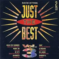 Just the Best 3 (1994) Snap, Crash Test Dummies, Warren G, La Bouche, M.. [2 CD]
