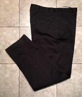 DOCKERS D3 * Mens Black Casual Pants * Size 34 x 34 * EXCELLENT