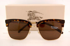 Brand New Burberry Sunglasses BE 4154Q 3002/73 Havana/Gold Brown Lenses for Men