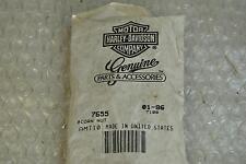 HARLEY DAVIDSON 7655 ACORN NUT CHROME/ DADO HARLEY OEM CROMATO