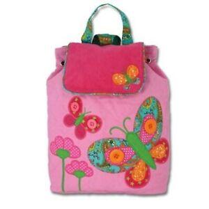 Personalised Stephen Joseph Butterfly backpack for kids, School Bag, Nursery
