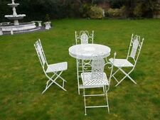 Unbranded Metal Garden & Patio Furniture Sets with 5 Pieces
