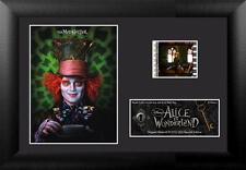 ALICE IN WONDERLAND Tim Burton MADHATTER Johnny Depp FILM CELL and MOVIE PHOTO