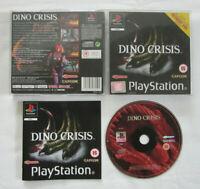 DINO CRISIS (SLES-02207) - PAL - PLAYSTATION 1 PS1