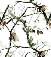 20 water slide nail art transfer Real Tree White full nail wrap trending
