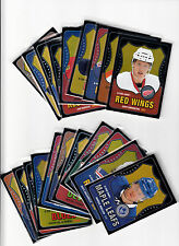 OPC O-Pee-Chee 2010-11 Complete Rookie Black Rainbow Update Set (601-620)
