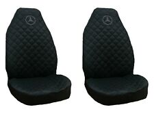 Front Seat Covers Mercedes A , B , C , E class Vito , Viano , Sprinter BLACK