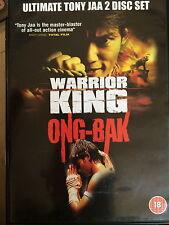 Tony Jaa WARRIOR KING / ONG BAK ~ Thai Martial Arts Film | 2-Disc UK DVD